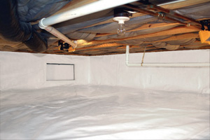 Crawl Space Repair After in Lincoln