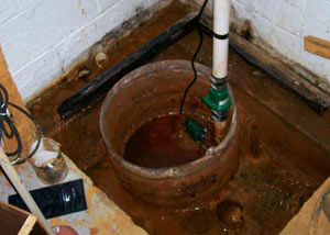 Extreme clogging and rust in a Hastings sump pump system