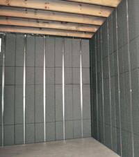 Thermal insulation panels for basement finishing in Sioux City, Nebraska, Iowa, and Missouri